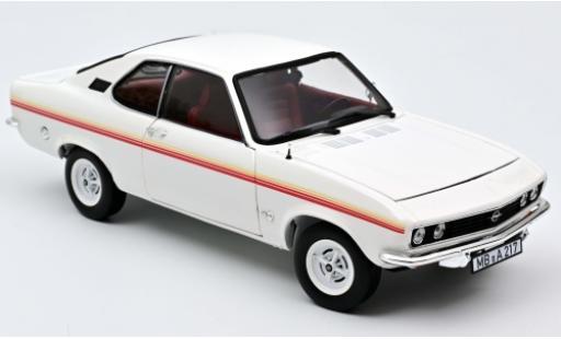 Opel Manta 1/18 Norev A Swinger blanche/Dekor 1975 miniature