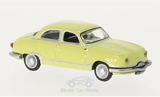 Panhard Dyna 1/87 Norev Z12 yellow 1957 diecast model cars