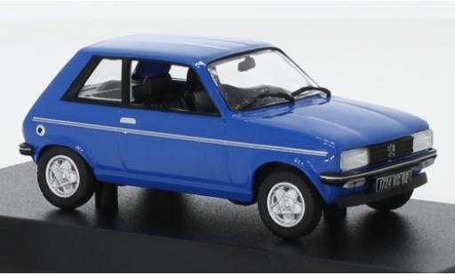 Peugeot 104 1/43 Norev ZS blue 1979 diecast model cars