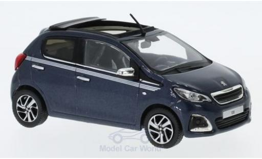 Peugeot 108 1/43 Norev TOP! Collection bleue 2017 miniature
