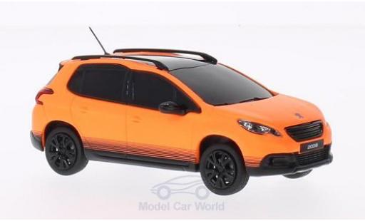 Peugeot 2008 1/43 Norev matt-orange 2013 diecast