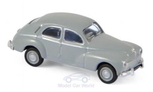 Peugeot 203 1/87 Norev grise 1955 miniature