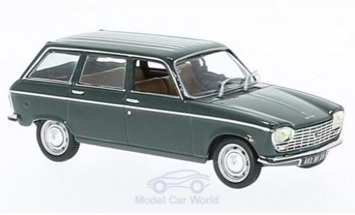 Peugeot 204 Break 1/43 Norev Break dunkelgrün 1969 modellautos