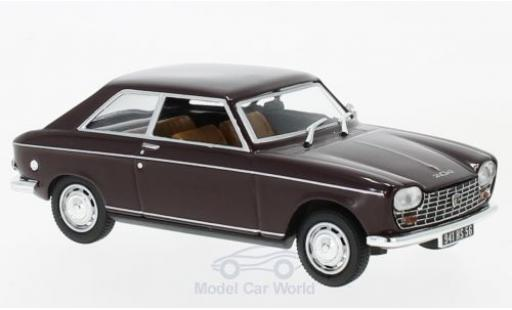 Peugeot 204 1/43 Norev Coupe rouge 1967 miniature