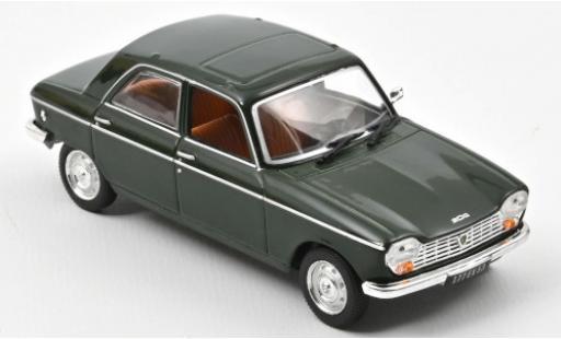 Peugeot 204 1/43 Norev green 1966 diecast model cars