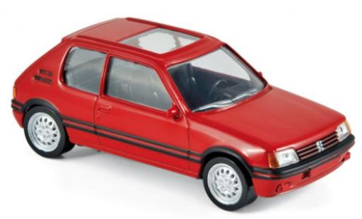 Peugeot 205 1/43 Norev GTi red 1986 diecast model cars