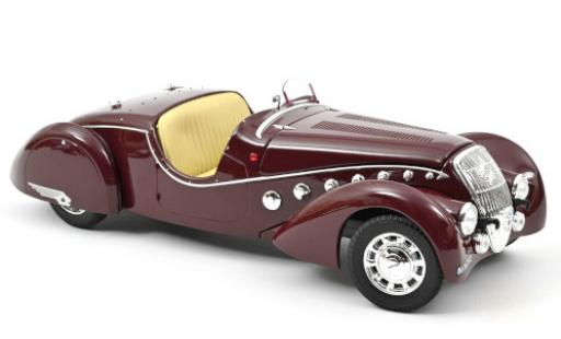 Peugeot 302 1/18 Norev Darl'Mat Roadster rojo 1937 coche miniatura