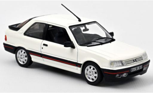 Peugeot 309 1/43 Norev GTi blanco 1987 coche miniatura