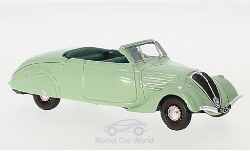 Peugeot 402 1/43 Norev Eclipse verte 1937 miniature