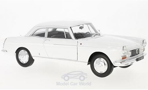 Peugeot 404 coupe 1/18 Norev Coupe blanche 1967 miniature