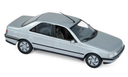 Peugeot 405 1/43 Norev SRi grey 1991 diecast model cars