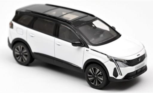 Peugeot 5008 1/43 Norev GT Black Pack metallise white 2020 diecast model cars