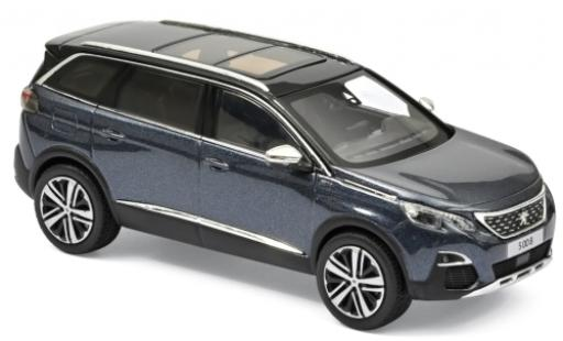 Peugeot 5008 1/43 Norev GT metallise blue 2016 diecast model cars