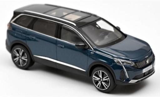 Peugeot 5008 1/43 Norev GT metallise blue 2020 diecast model cars