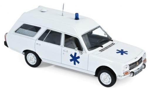 Peugeot 504 1/43 Norev Break Ambulance 1979 miniature