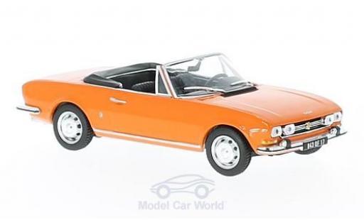 Peugeot 504 Cabriolet 1/43 Norev Cabriolet orange 1970 SoftTop liegt bei miniature