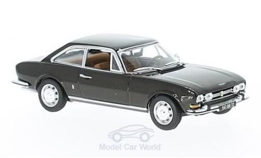 Peugeot 504 coupe 1/43 Norev Coupe metallic brown 1969 diecast
