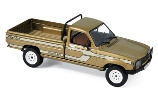 Peugeot 504 1/43 Norev Pick Up California Dangel 4x4 metallise beige/Dekor 1985 diecast model cars
