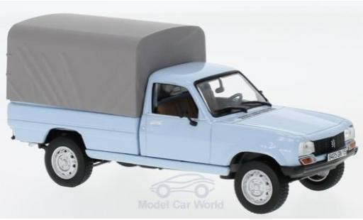 Peugeot 504 1/43 Norev Pick-Up blue 1985 geschlossen diecast