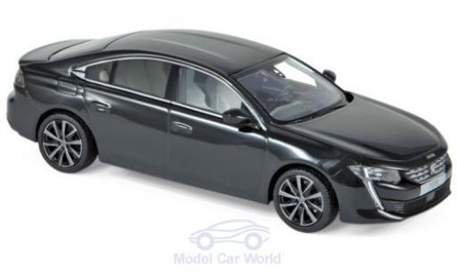 Peugeot 508 1/43 Norev noire 2018 miniature