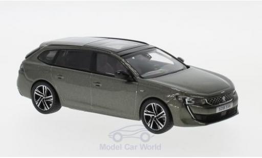 Peugeot 508 SW 1/43 Norev SW GT metallic-dunkelgrise 2018 miniature