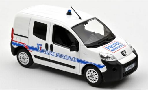 Peugeot Bipper 1/43 Norev Police Municipale (F) 2009 diecast model cars