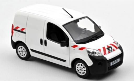 Peugeot Bipper 1/43 Norev white/Dekor 2009 diecast model cars