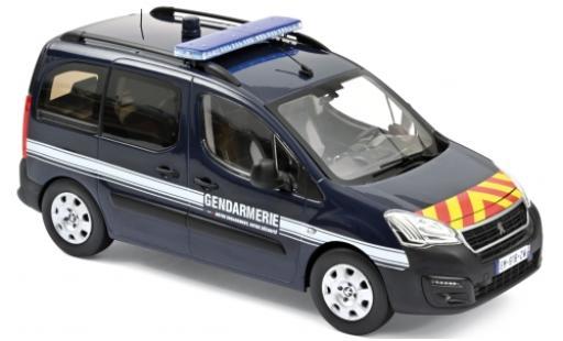 Peugeot Partner 1/18 Norev Gendarmerie (F) 2018 diecast model cars