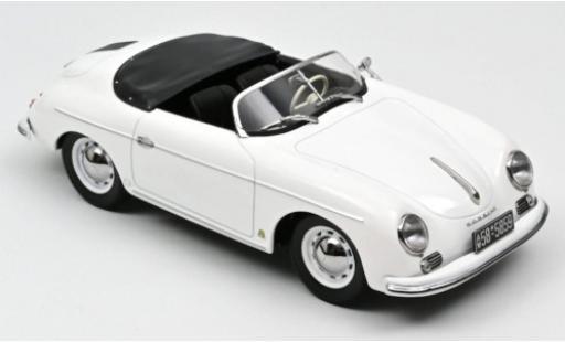 Porsche 356 1/18 Norev Speedster white 1954 diecast model cars