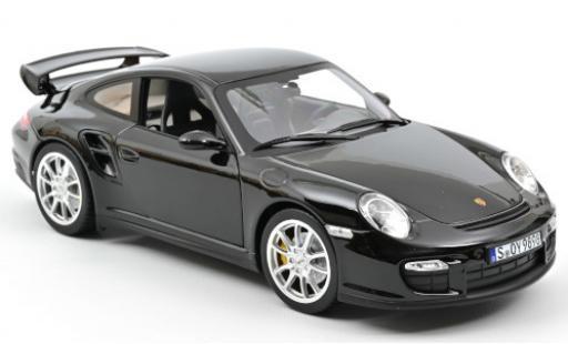Porsche 991 1/18 Norev 911 GT2  black 2010 diecast model cars