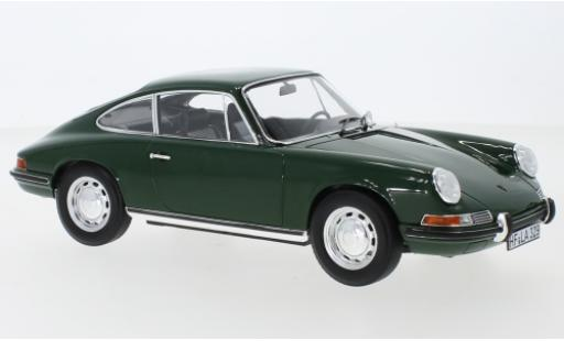 Porsche 911 1/18 Norev L green 1968 diecast model cars