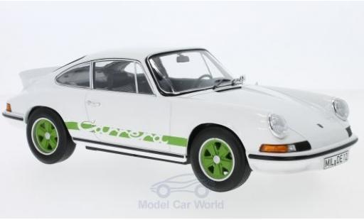Porsche 911 SC 1/18 Norev RS Touring blanco/verde 1973 coche miniatura