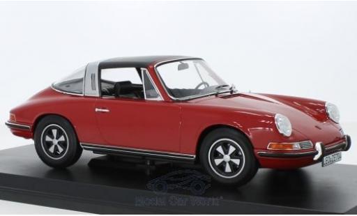 Porsche 911 1/18 Norev T Targa rouge 1971 miniature