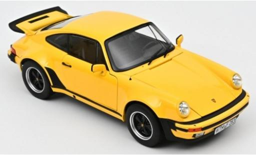 Porsche 930 Turbo 1/18 Norev 911 3.0 yellow 1976 diecast model cars