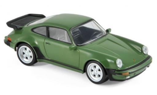 Porsche 930 Turbo 1/43 Norev 911 3.3 verde 1978 Jetcar coche miniatura