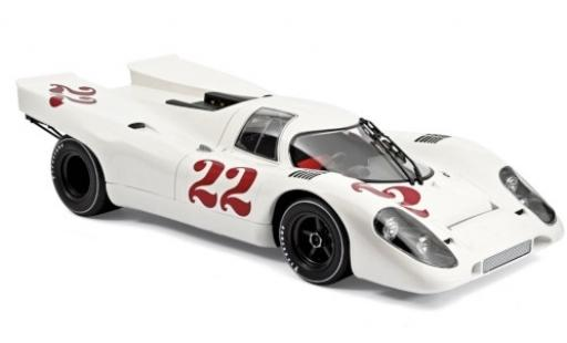 Porsche 917 1970 1/12 Norev K RHD No.22 24h Frankreich Training R.Attwood/V.Elford miniature