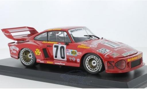Porsche 935 1/18 Norev No.70 Hawaiian Tropic 24h Le Mans 1979 P.Newman/D.Barbour/R.Stommelen miniature