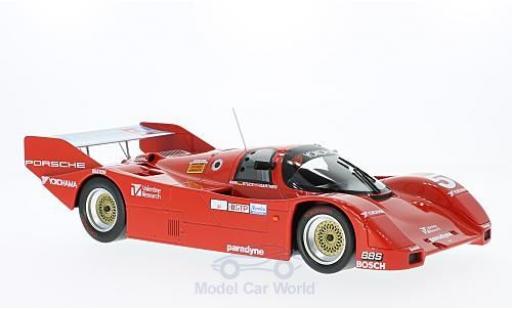 Porsche 962 1986 1/18 Norev No.5 Coca Cola IMSA 12h Sebring 1986 Decals liegen bei B.Akin/H-J.Stuck/J.Gartner miniature