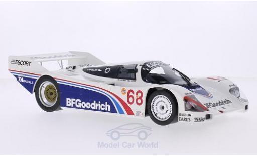 Porsche 962 1985 1/18 Norev No.68 BF Goodrich IMSA Riverside 1985 P.Halsmer/J.Morton miniature