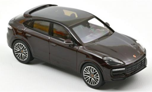 Porsche Cayenne Turbo 1/43 Norev Coupe metallise brown 2019 diecast model cars