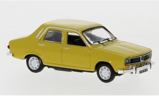 Renault 12 1/87 Norev yellow 1974 diecast model cars