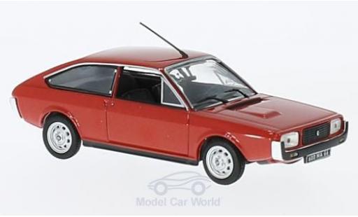Renault 15 1/43 Norev TL metallise rouge 1976 miniature