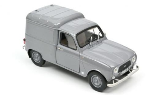 Renault 4 1/18 Norev Fourgonnette grey 1965 diecast model cars