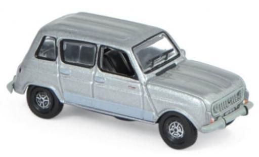 Renault 4 1/87 Norev GTL metallise grey 1987 diecast model cars
