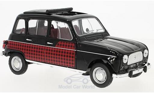 Renault 4 Parisienne 1/18 Norev noire/Dekor 196 miniature