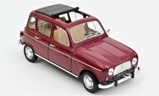 Renault 4 1/18 Norev L red 1966 diecast model cars