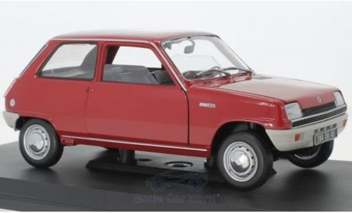 Renault 5 1/18 Norev red 1972 diecast model cars