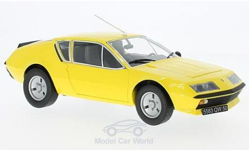 Alpine A310 1/18 Norev Renault yellow 1977 diecast model cars