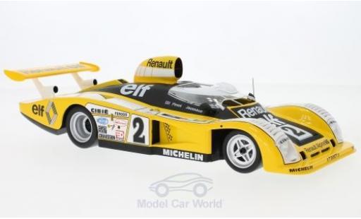 Alpine A442 1/18 Norev Renault B No.2 24h Le Mans 1978 D.Pironi/J.P.Jaussaud diecast