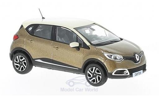 Renault Captur 1/43 Norev métallisé marron/beige 2013 miniature
